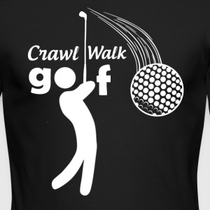 Crawl Walk Golf - Men's Long Sleeve T-Shirt by Next Level