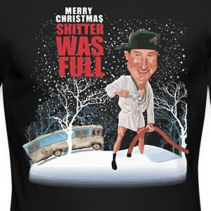 Merry christmas shitter was full shirt - Men's Long Sleeve T-Shirt by Next Level