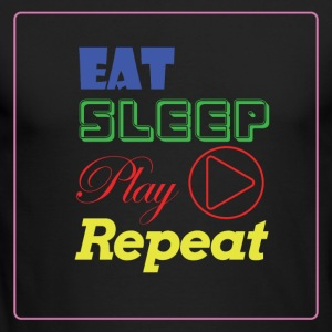 EAT, SLEEP, Play, Repeat - Men's Long Sleeve T-Shirt by Next Level