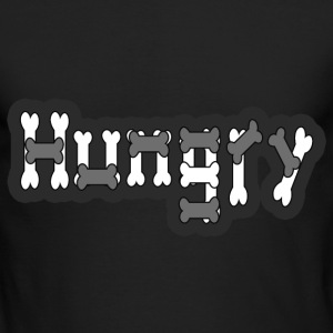 Hungry - Men's Long Sleeve T-Shirt by Next Level