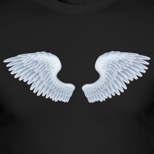 Angel Wings tshirt - Men's Long Sleeve T-Shirt by Next Level