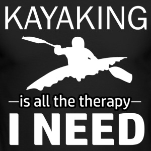 Kayaking is my therapy - Men's Long Sleeve T-Shirt by Next Level