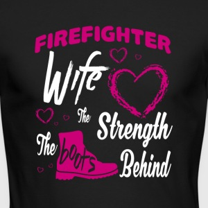 Firefighter Wife T Shirt - Men's Long Sleeve T-Shirt by Next Level