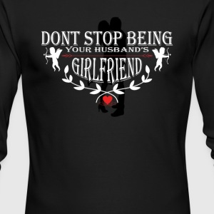 Valentine's day gifts - Men's Long Sleeve T-Shirt by Next Level