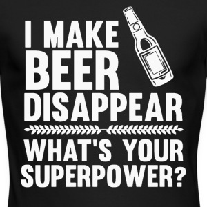 I make Beer disappear shirt - Men's Long Sleeve T-Shirt by Next Level