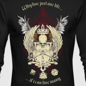 RPG Life - Men's Long Sleeve T-Shirt by Next Level
