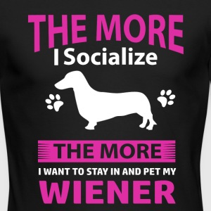 Funny Wiener Designs - Men's Long Sleeve T-Shirt by Next Level