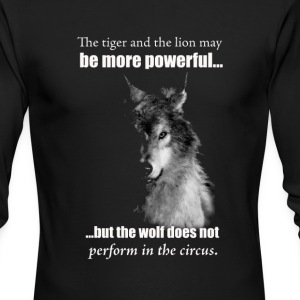 The Wolf - Men's Long Sleeve T-Shirt by Next Level
