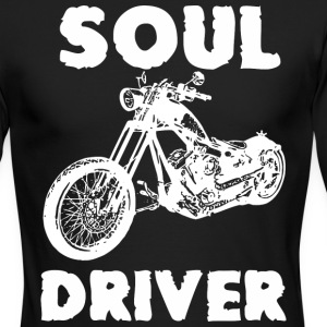 Motorcycle SOUL DRIVER - Men's Long Sleeve T-Shirt by Next Level