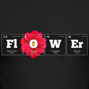 Periodic Elements: FlOWEr - Men's Long Sleeve T-Shirt by Next Level