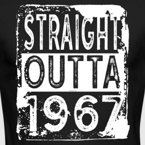 Funny 50th Birthday Gift: Straight Outta 1967 - Men's Long Sleeve T-Shirt by Next Level