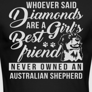 Australian Shepherd T Shirt - Men's Long Sleeve T-Shirt by Next Level