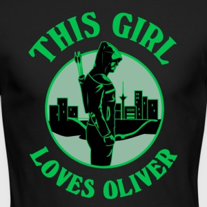 This Girl Loves Arrow. Oliver Queen - Men's Long Sleeve T-Shirt by Next Level