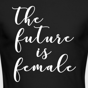 The future is female - Men's Long Sleeve T-Shirt by Next Level