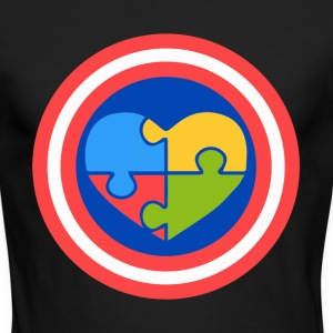 Autism superhero - Men's Long Sleeve T-Shirt by Next Level