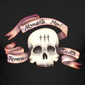 Momento Mori - Remember Death - Men's Long Sleeve T-Shirt by Next Level
