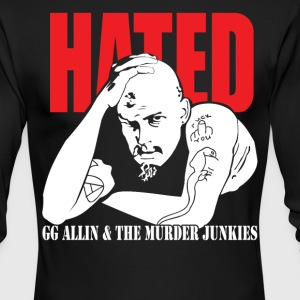 Hated GG Allin & The Murder Junkies - Men's Long Sleeve T-Shirt by Next Level