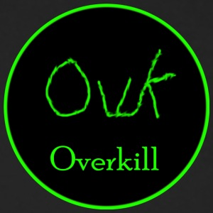 Overkill 2017 Logo - Men's Long Sleeve T-Shirt by Next Level