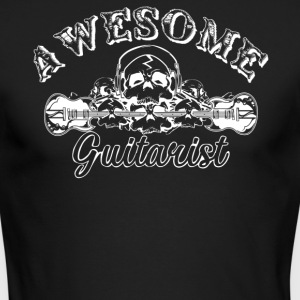 Awesome Guitarist Shirt - Men's Long Sleeve T-Shirt by Next Level