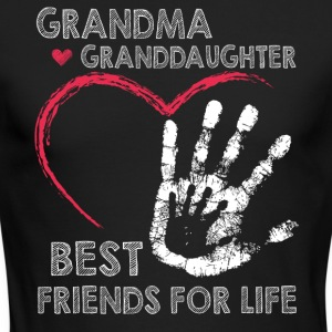 Grandma and granddaughter best friends for life - Men's Long Sleeve T-Shirt by Next Level