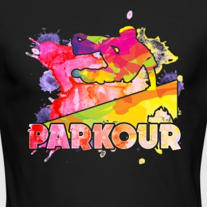 Play Parkour Shirt - Men's Long Sleeve T-Shirt by Next Level