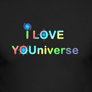 I LOVE YOU UNIVERSE ii - Men's Long Sleeve T-Shirt by Next Level
