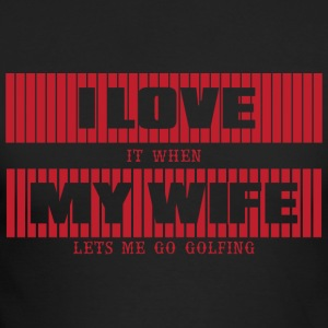 I LOVE MY WIFE - Men's Long Sleeve T-Shirt by Next Level