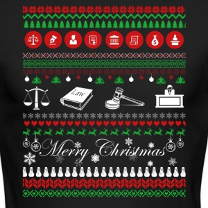 Lawyer Shirt - Lawyer Christmas Shirt - Men's Long Sleeve T-Shirt by Next Level