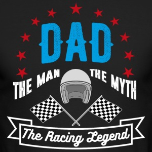 Dad The Racing Legend - Men's Long Sleeve T-Shirt by Next Level