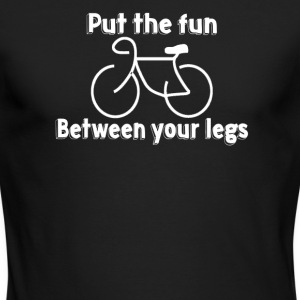 Put The Fun Between Your Legs - Men's Long Sleeve T-Shirt by Next Level