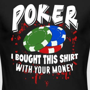 POKER SHIRT - Men's Long Sleeve T-Shirt by Next Level