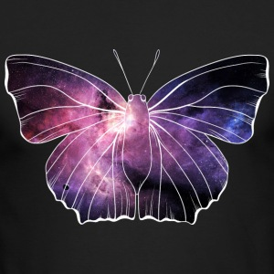 Galaxy in butterfly - Men's Long Sleeve T-Shirt by Next Level