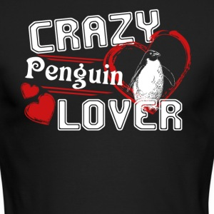 Penguin Lover Shirt - Men's Long Sleeve T-Shirt by Next Level