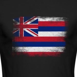 Hawaii American Flag Fusion - Men's Long Sleeve T-Shirt by Next Level