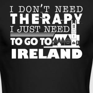 Ireland Therapy Shirt - Men's Long Sleeve T-Shirt by Next Level