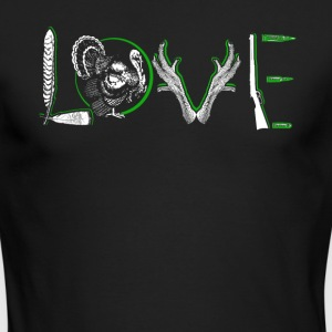 Love Turkey Shirt - Men's Long Sleeve T-Shirt by Next Level