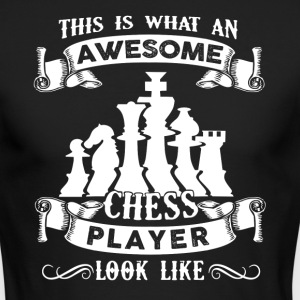 Awesome Chess Player Shirt - Men's Long Sleeve T-Shirt by Next Level