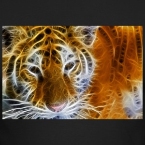 tiger glow - Men's Long Sleeve T-Shirt by Next Level