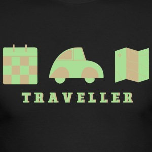 CREATIVE DESIGN || TRAVELLING - Men's Long Sleeve T-Shirt by Next Level