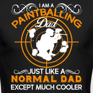Paintballing Dad Shirt - Men's Long Sleeve T-Shirt by Next Level