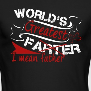 World Great Father Shirt - Men's Long Sleeve T-Shirt by Next Level