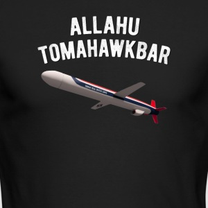 Allahu Tomahawkbar - Men's Long Sleeve T-Shirt by Next Level