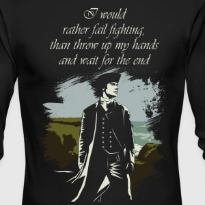 Poldark Quote - Men's Long Sleeve T-Shirt by Next Level