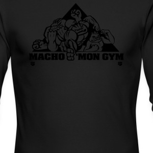 Macho mon Gym - Men's Long Sleeve T-Shirt by Next Level