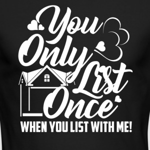 Real Estate Shirt - Men's Long Sleeve T-Shirt by Next Level