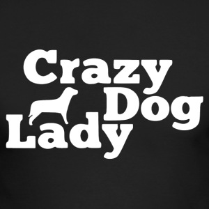 Crazy Dog Lady Shirt - Men's Long Sleeve T-Shirt by Next Level