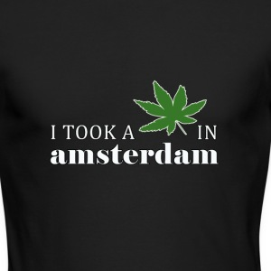 Amsterdam Weed - Men's Long Sleeve T-Shirt by Next Level