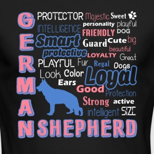 German Shepherd Shirt - Men's Long Sleeve T-Shirt by Next Level