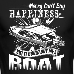 BOAT HAPPINESS SHIRT - Men's Long Sleeve T-Shirt by Next Level