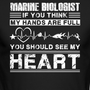 Marine Biologist Shirt - Men's Long Sleeve T-Shirt by Next Level